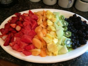Pinterest-worthy fruit salad, perfection